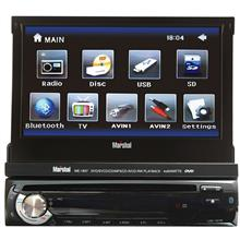 Marshal ME-1837 AV Car Multimedia Player with Bluetooth